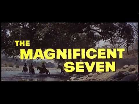 """The Magnificent Seven"" (1960) / Director: John Sturges / Writer: William Roberts (screenplay) / Stars: Yul Brynner, Eli Wallach, Steve McQueen #trailer"