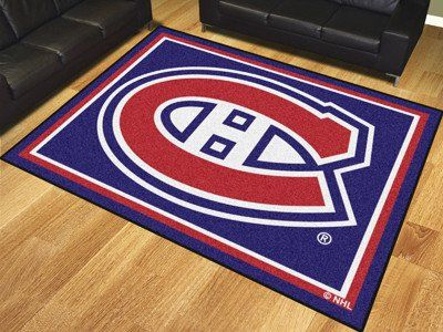 Nhl Montreal Canans 8 X10 Rug
