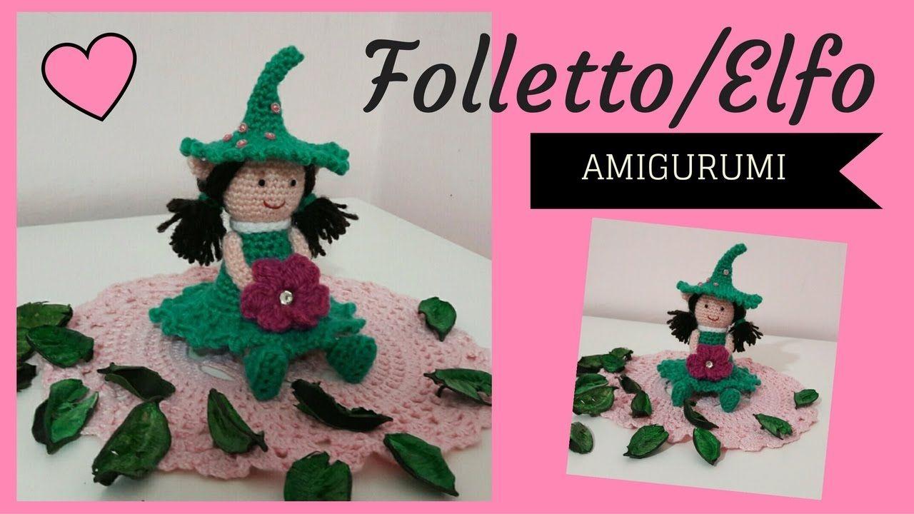ELFO AMIGURUMI 31612 (con imágenes) | Patrones amigurumi ... | 720x1280