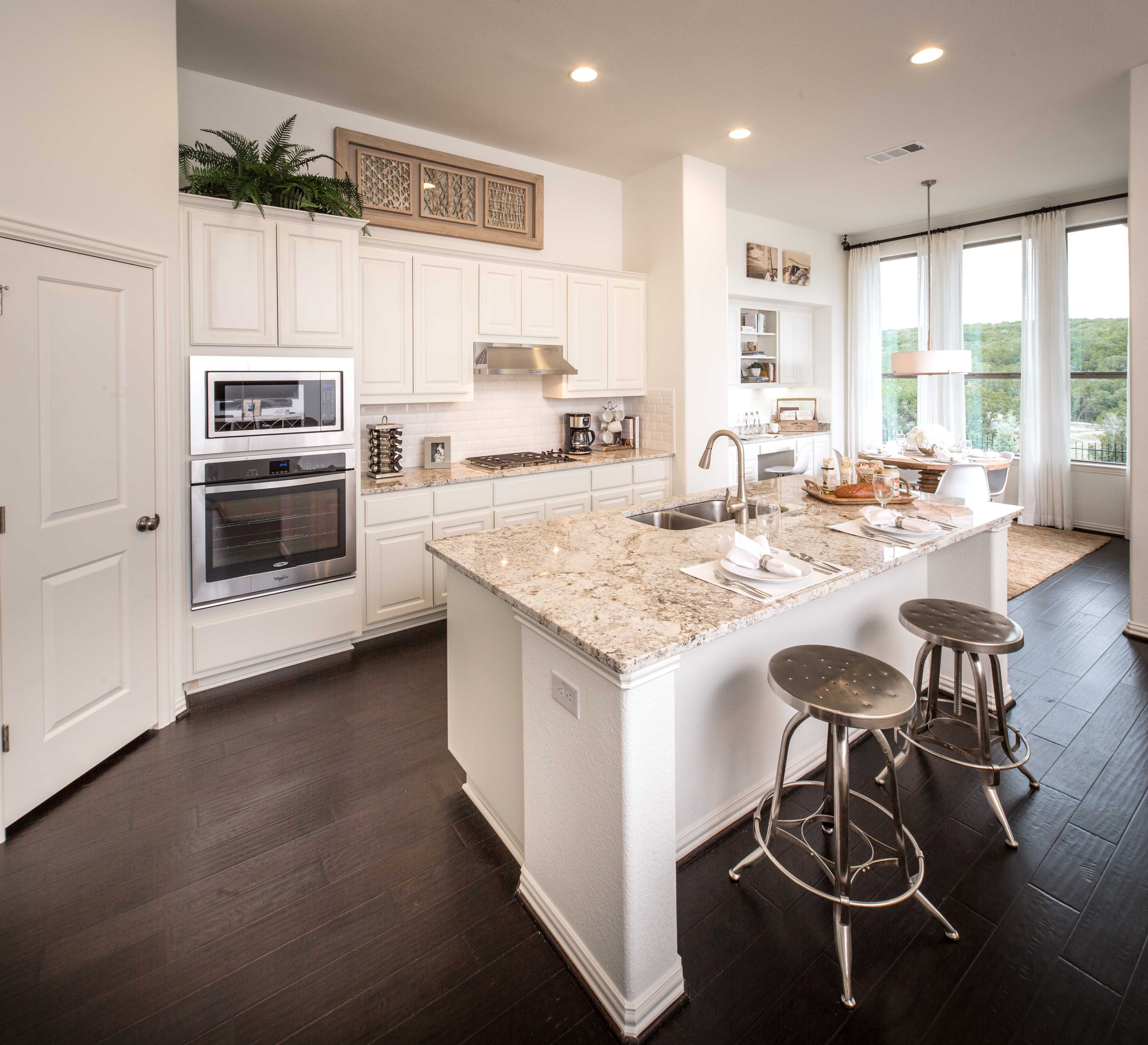 Highland Homes Plan 229 Model Home In Austin Texas, Lakeside At Tessera On  Lake Travis