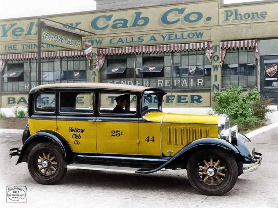 1930 Studebaker Yellow Cab | Archives | Antique cars, Cars