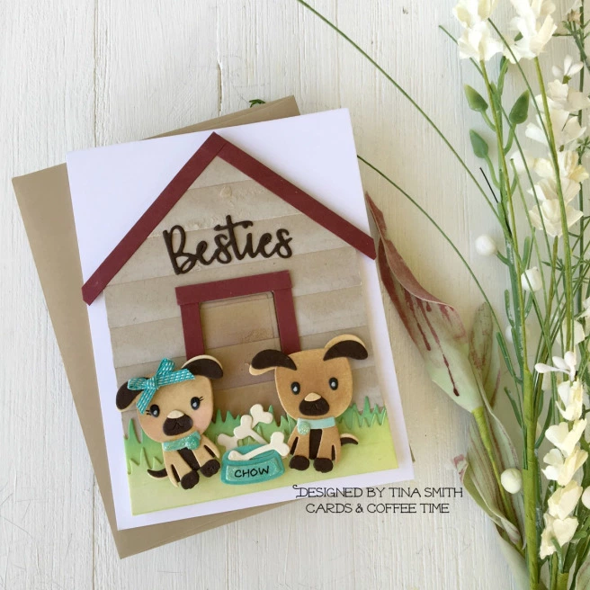 Spellbinders – Small Die of the Month Club Kit – July 2019 | Cards and Coffee Time #cardkit