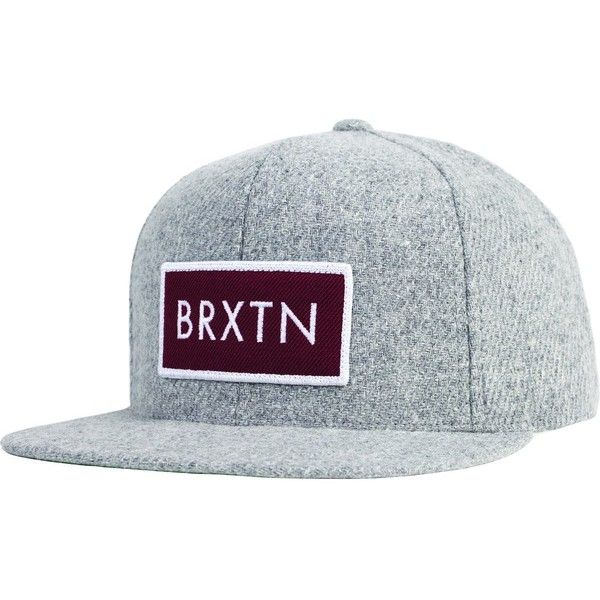 Brixton Rift Snapback Hat ( 28) ❤ liked on Polyvore featuring accessories 98e997f5e647