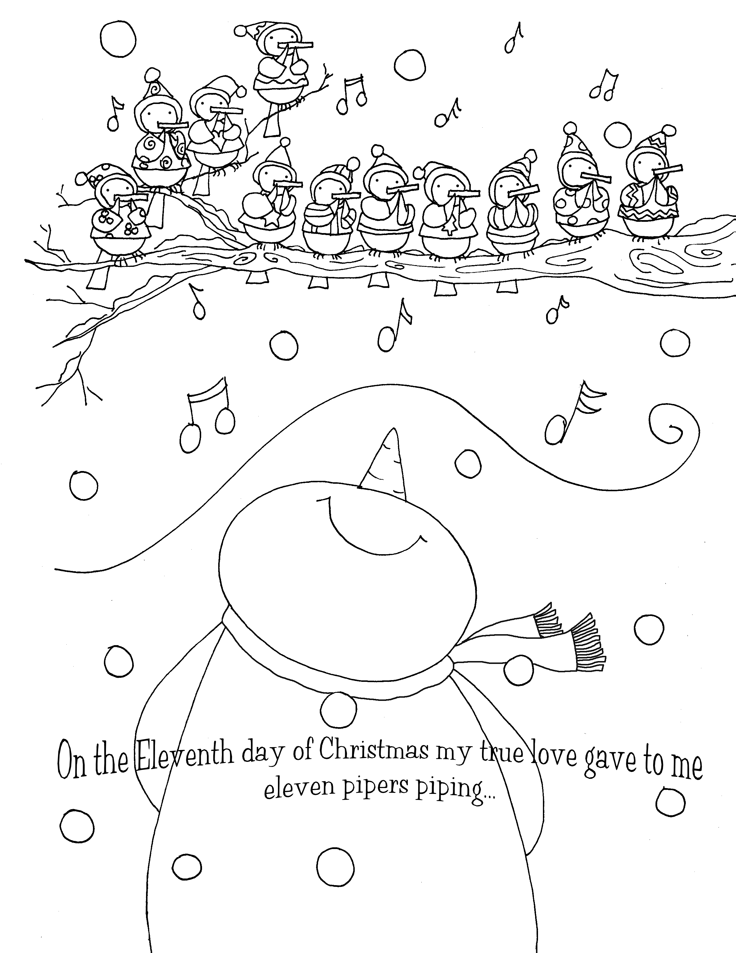 pipers piping free stampsdearie dear digi stamps pinterest
