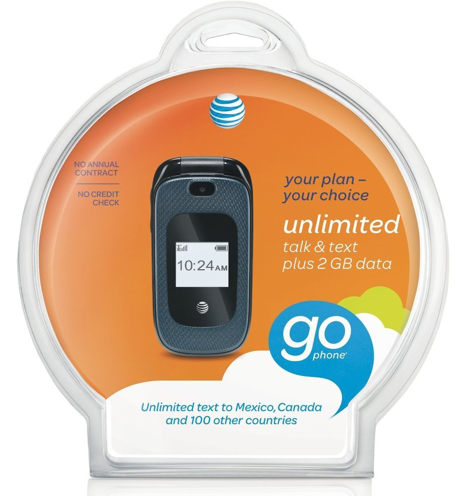 AT&t Z222 prepaid Gophone cell phone with no contract ATT