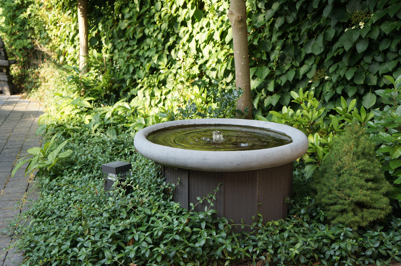 Wonderbaarlijk Fontein schaal Ø 80 cm (met afbeeldingen)   Waterornamenten, Tuin AW-11