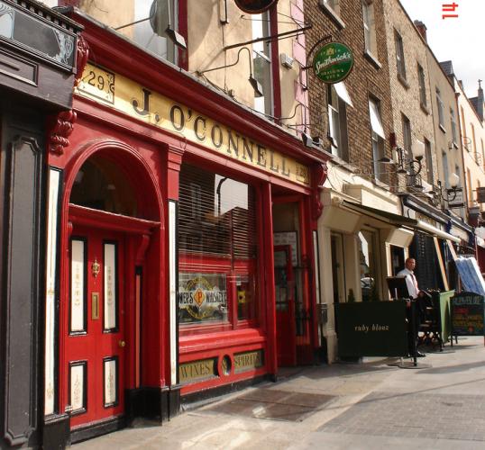 Scottish Pub Bar: O'Connells, Portobello, Dublin