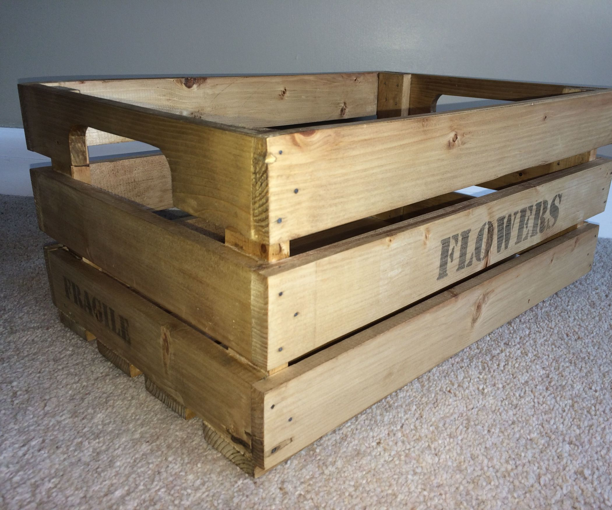How To Make A Wooden Crate Wooden Crates Crates And