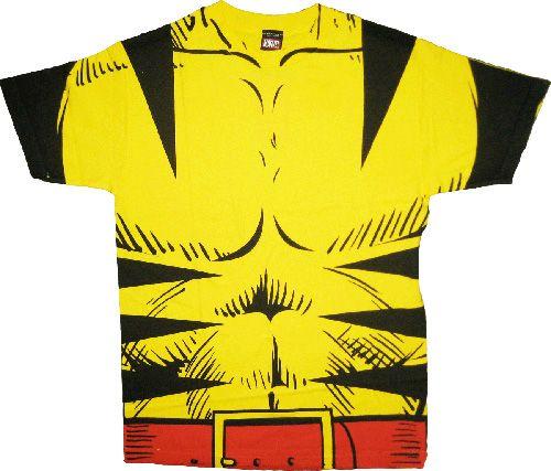 X-Men Wolverine Costume T-shirt
