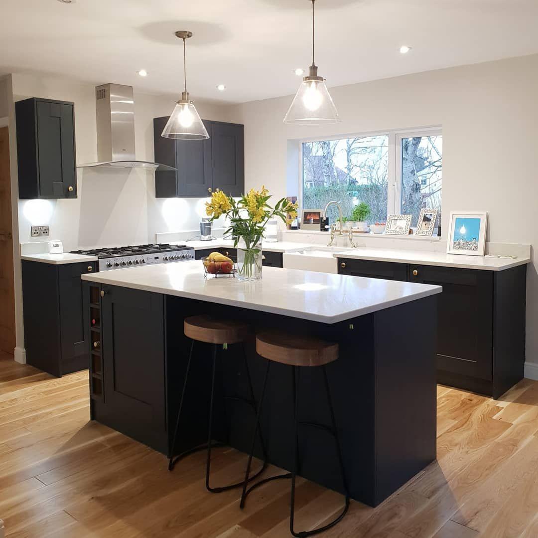 wickes milton midnight blue navy kitchen bluenavy kitchen midnight milton wickes in 2020 on kitchen decor navy id=99870