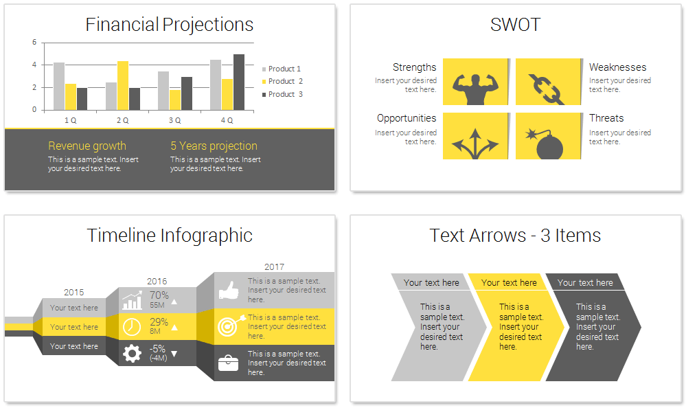 Modern Business Plan Powerpoint Template Reports Design