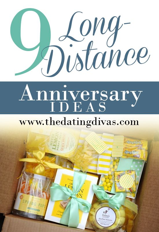 long distance anniversary gifts for him