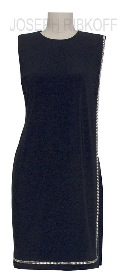 LBD | The perfect LITTLE BLACK DRESS | Diamonte detailing | Joseph ...
