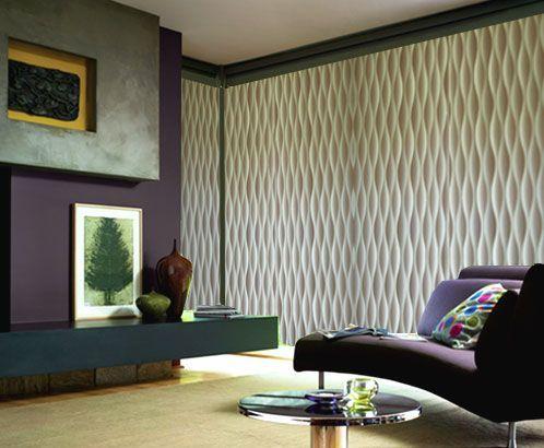 wavy vertical blinds vertical blinds pinterest modern. Black Bedroom Furniture Sets. Home Design Ideas