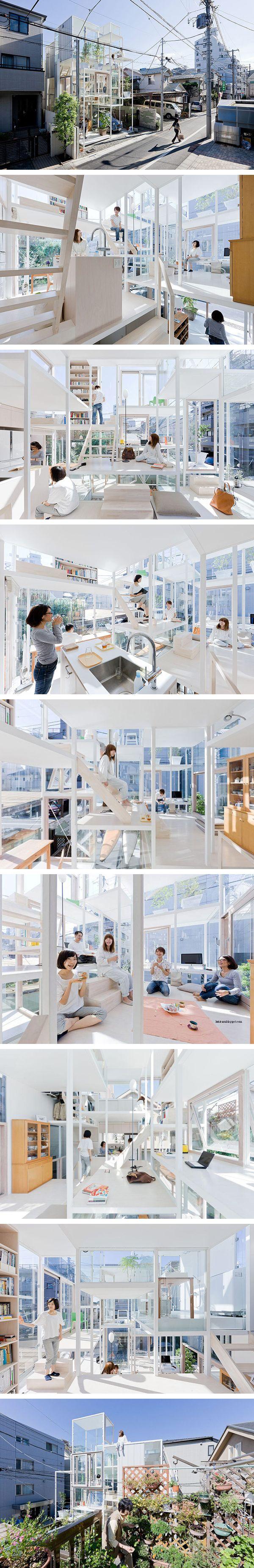 CASA NA despiertaYmira Arquitectura moderna japonesa