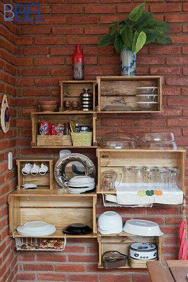 Muebles Hechos Con Huacales