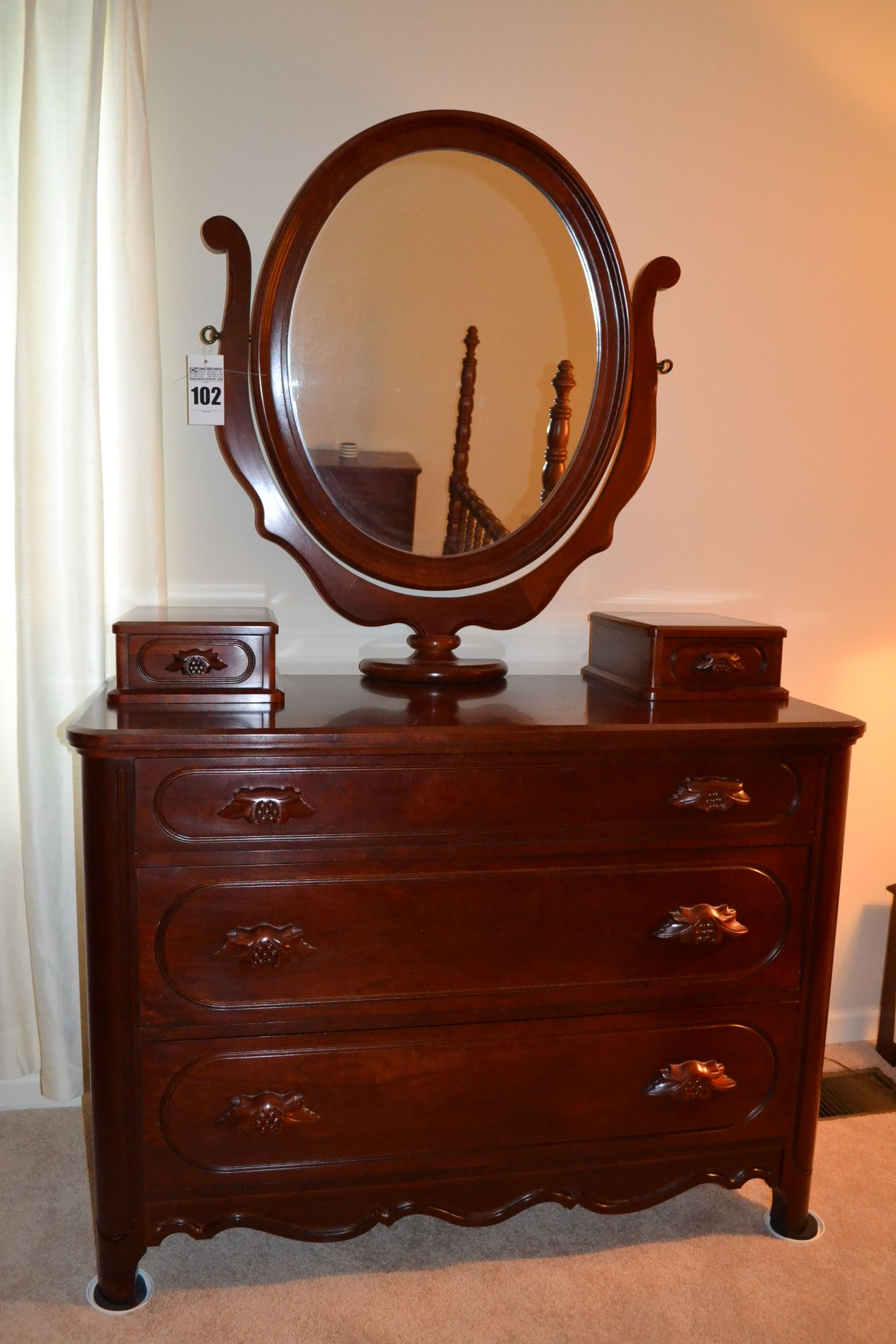 The Original Lillian Russell Collection Mirrored Dresser By Davis