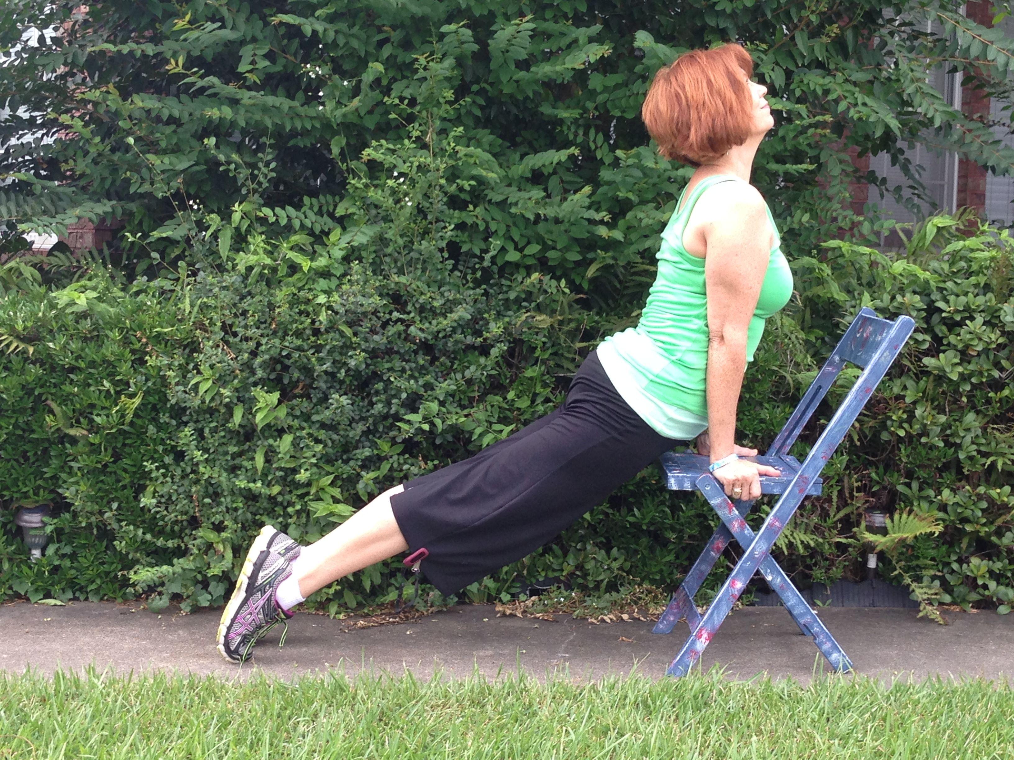 Printable chair yoga poses - Printable Chair Yoga Poses 53