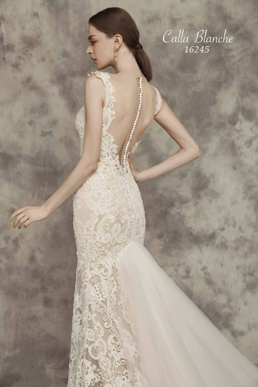 Chloe Wedding Dress Style 16245 Calla Blanche Bridal The Perfect Boutique Sarasota Fl