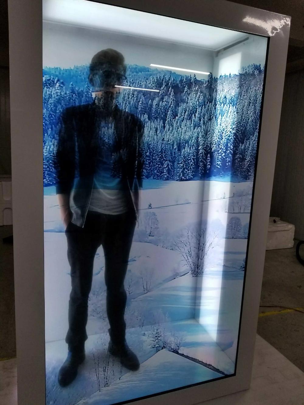 Dedi 21 5 86 Transparent Glass Touch Screen Panel Transparent Lcd Display Box Touchscreendisplay Dedi 2 Transparent Screen Display Boxes Interactive Display