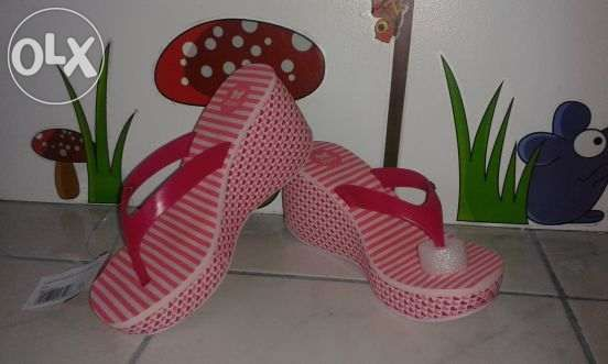 Brand New Grendha Zoxy Lipstick Wedge And Ipanema Wedge For Sale