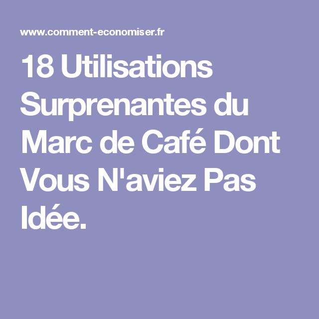 18 utilisations surprenantes du marc de caf dont vous n 39 aviez pas id e. Black Bedroom Furniture Sets. Home Design Ideas