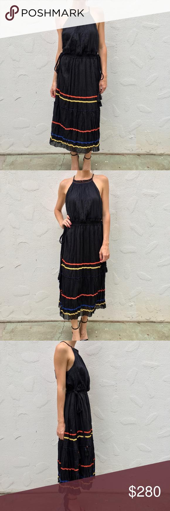 b72d55a1ad (JOIE) Danit Dress in Caviar Stunning Danit Dress in Caviar by JOIE ✿ self  70% cotton 30% silk