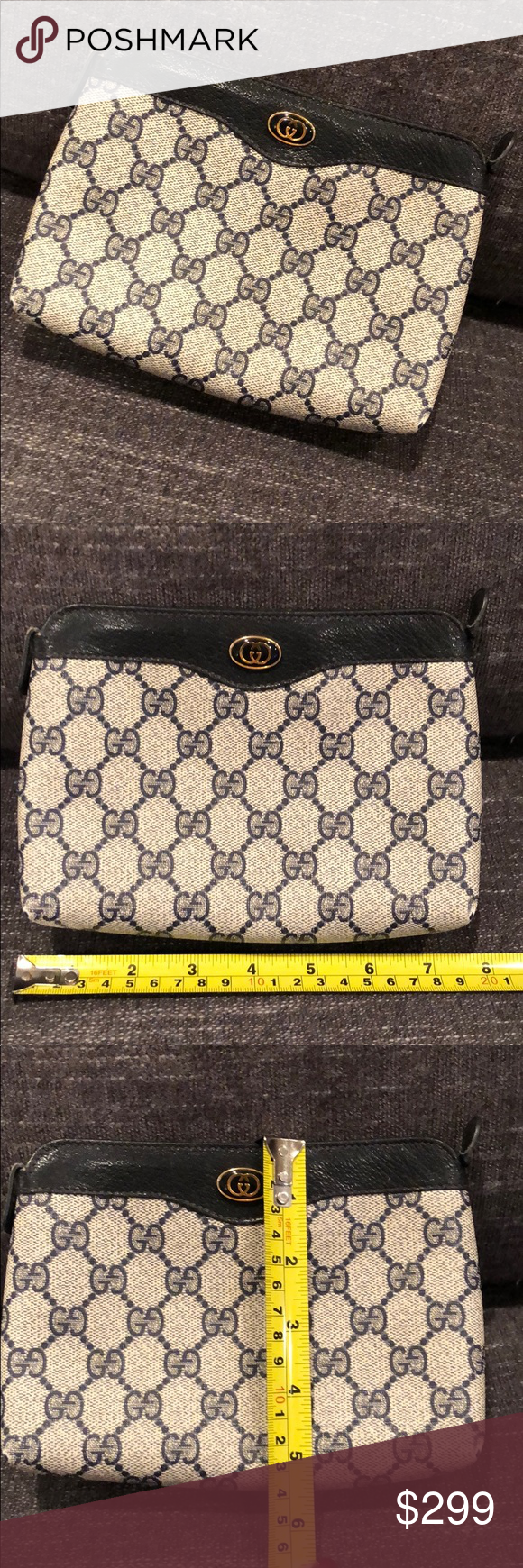 Gucci vintage makeup bag! Rare find! Vintage gucci