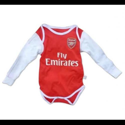 093e6176d66 Infant Arsenal Long Sleeve Home Soccer Jersey Shirt 2017-18 Model   Goal62734 Baby kids 18 19 Football Kits on Goaljerseyshop.com