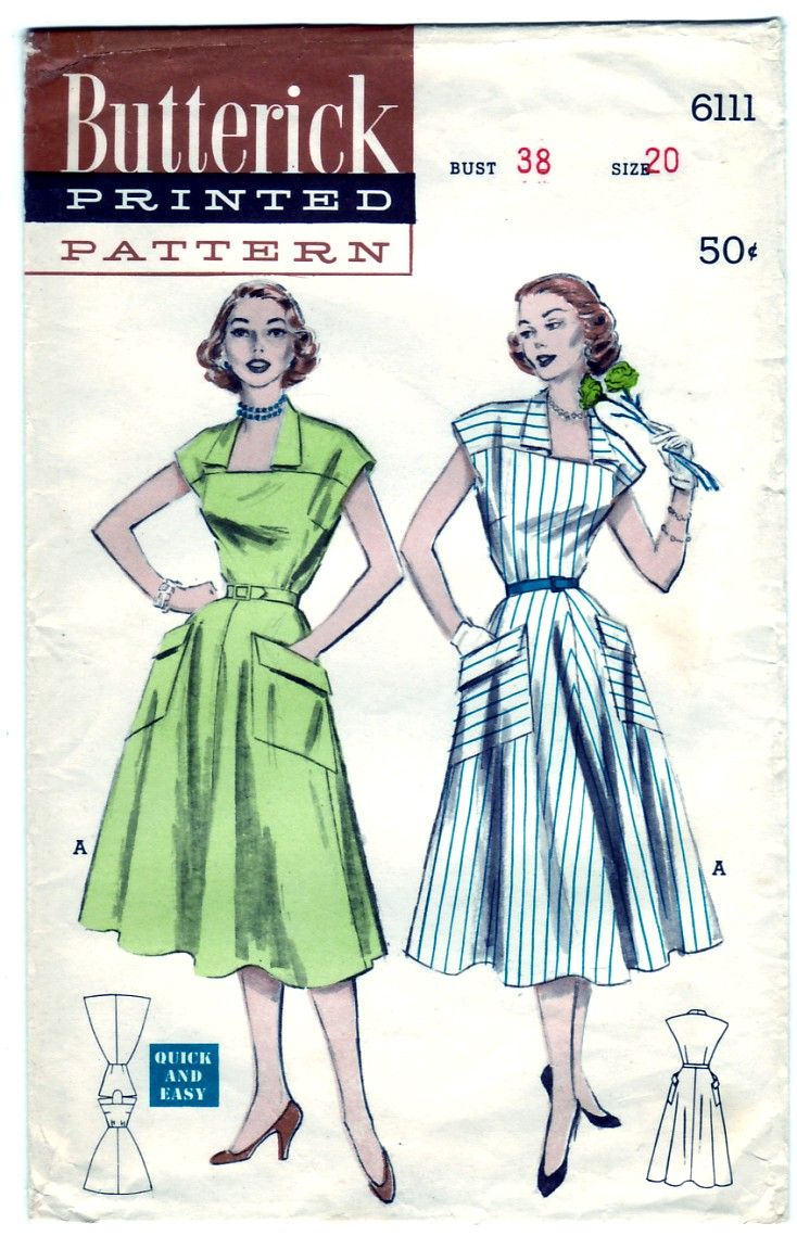 1952..Patterns back in the day..