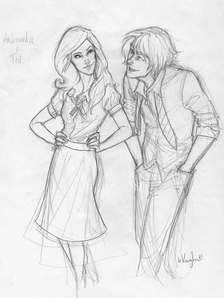 Andy and Ted by *burdge-bug on deviantART