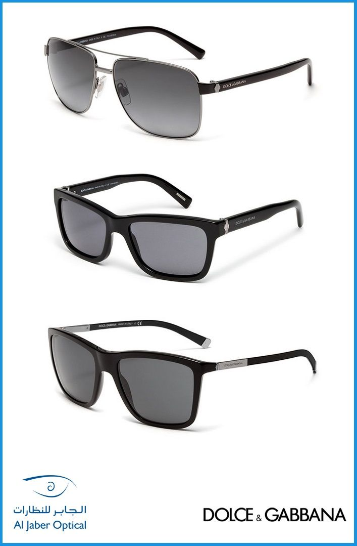 Which one is your choice with these Dolce & Gabbana Men's Sunglasses?
