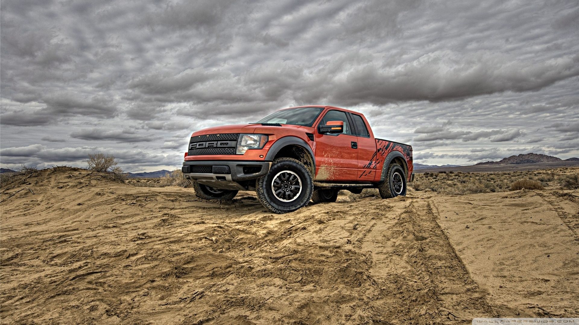 Orange Ford Raptor Wallpaper Rapter Camionetas Ford Coches Ford