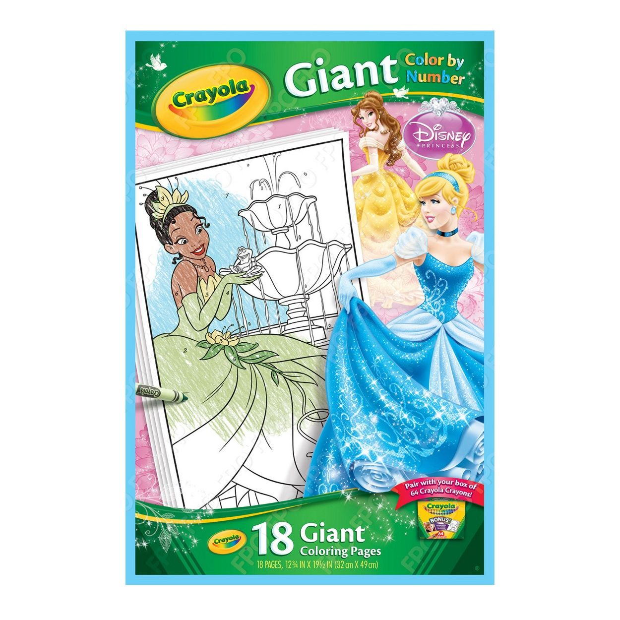 Disney Princess Giant Colour By Numbers At Debenhams Com Color By Numbers Disney Disney Princess