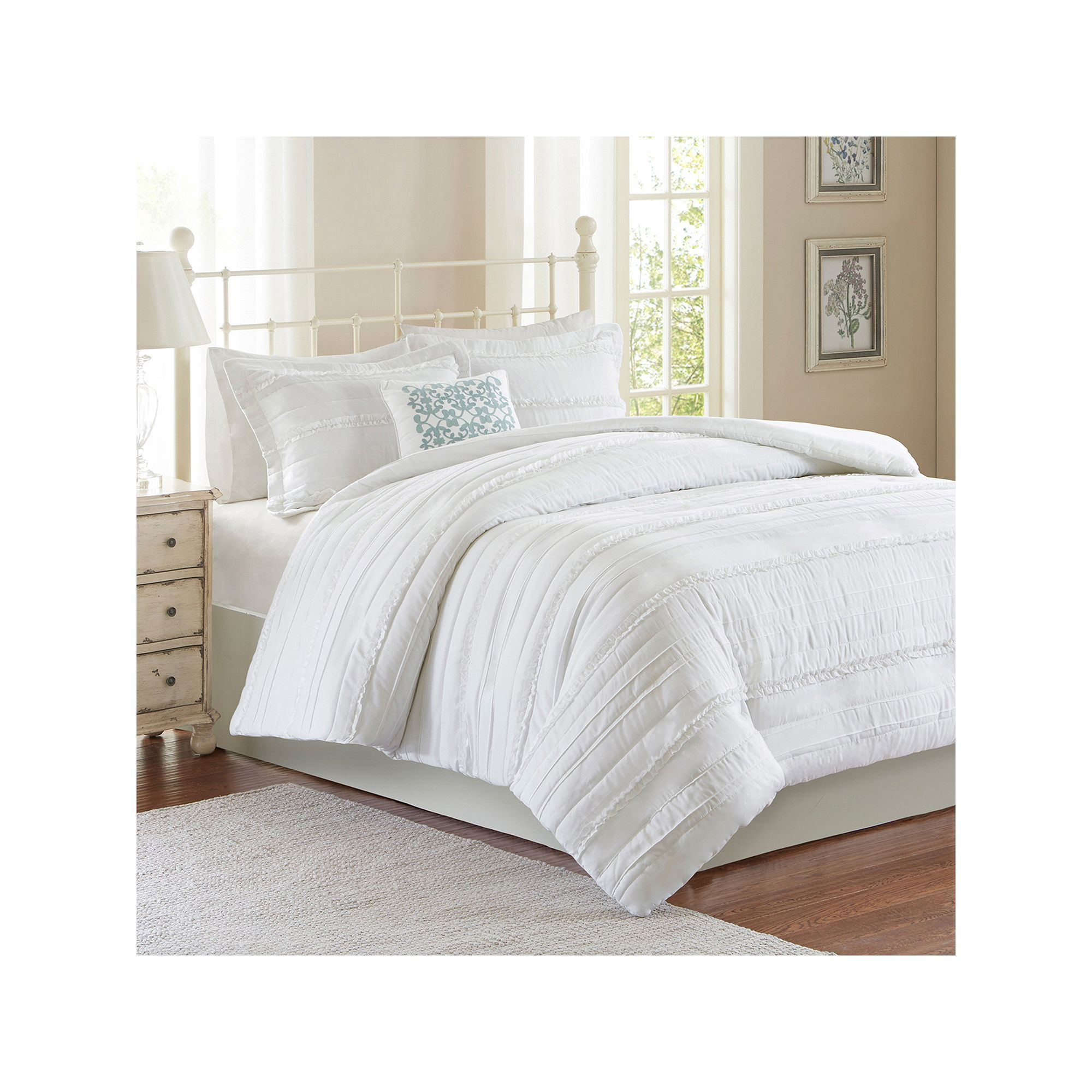 Madison Park Isabella 2 In 1 4 Piece Duvet Cover Set Shabby Chic Room Target Shabby Chic Bedding Chic Upholstery Madison park duvet cover set