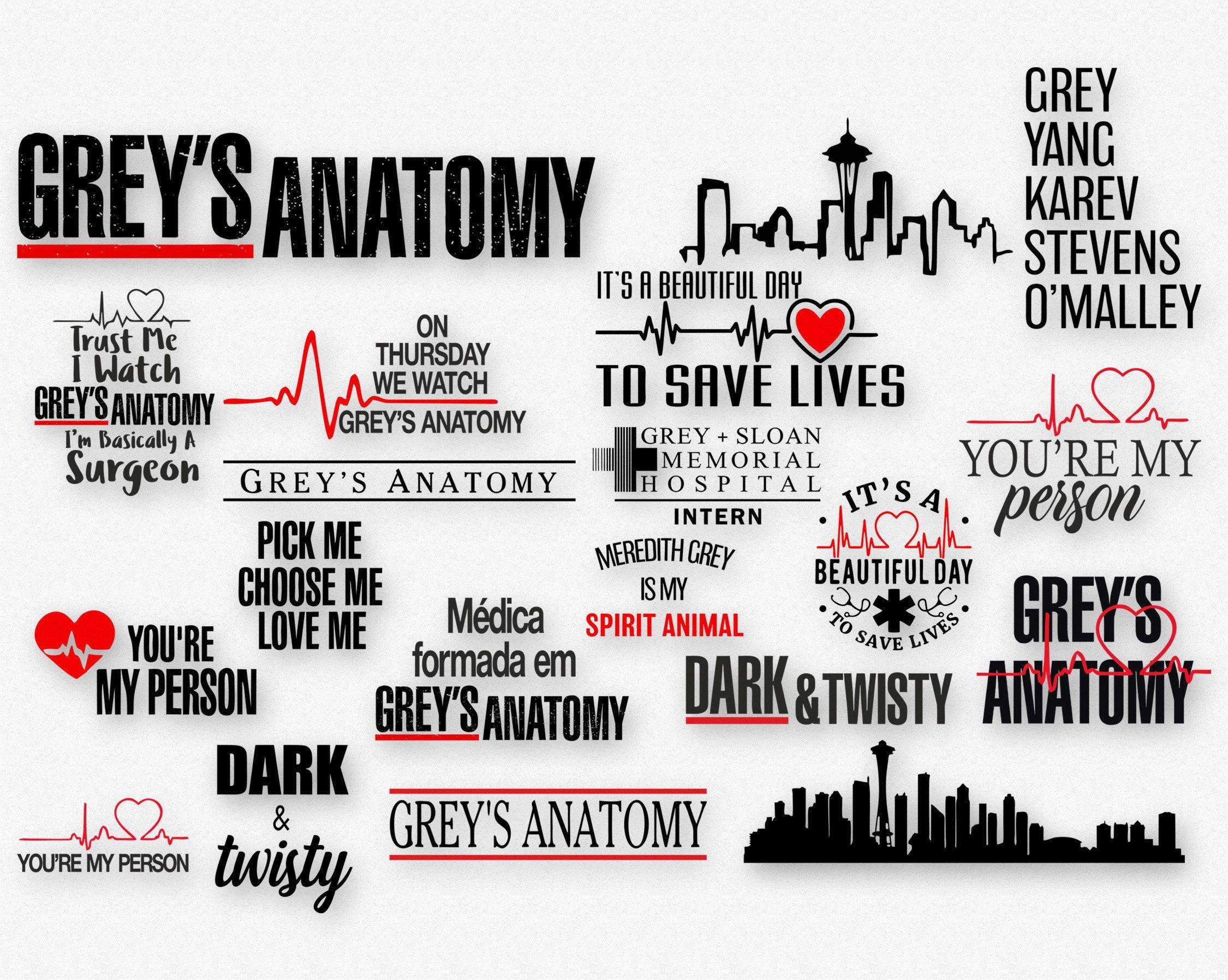 Greys Anatomy Digital Decal Clip Art Fan Cup Tumbler ... (2250 x 1795 Pixel)