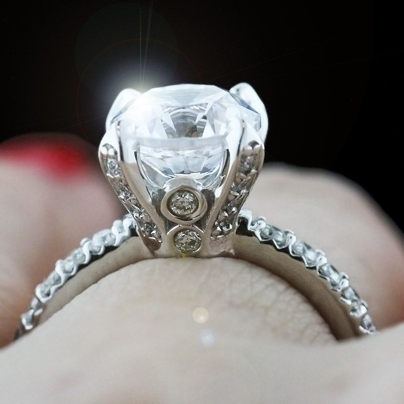 jwo rings n diamond portfolio custom ring style jewellery cathedral engagement jewelers page