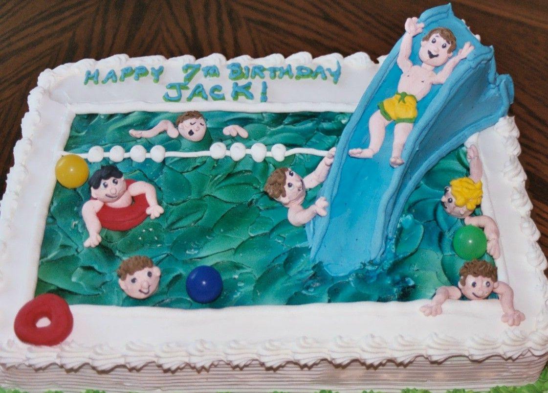 Cake · Pool Party Cakes U2013 Decoration Ideas ...