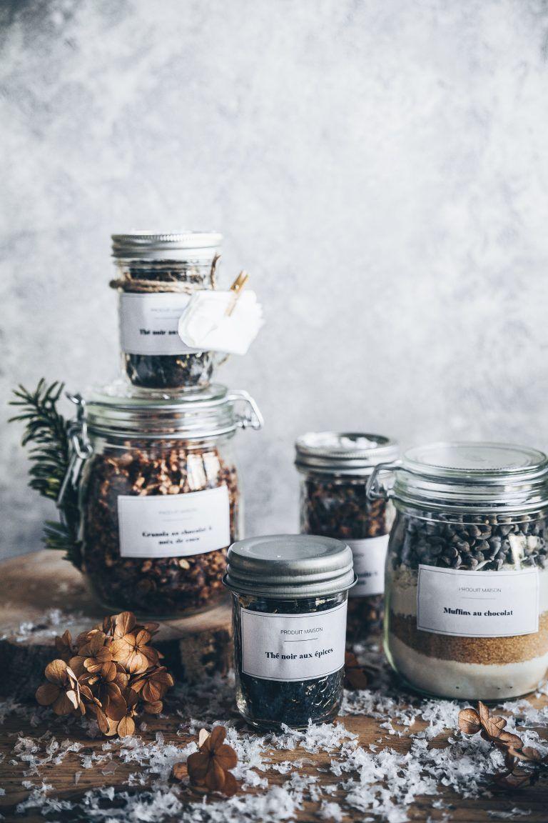 DIY cadeaux gourmands à offrir Meg&cook Cadeaux