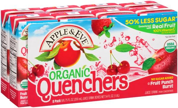 Kroger Apple & Eve Quenchers Juice Boxes Only 0.49