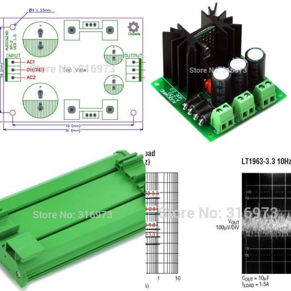 DIN Rail Mount Fused 8 DPDT 5A Power Relay Interface Module, G2R-2