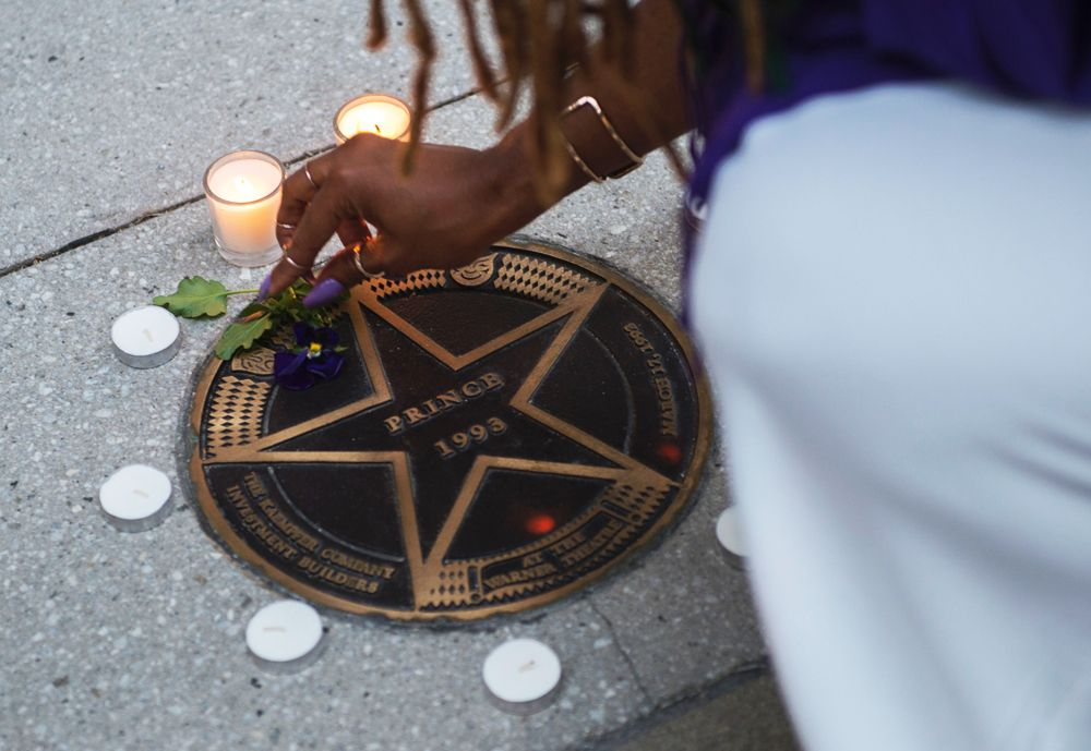 Prince's Star in Washington D.C.