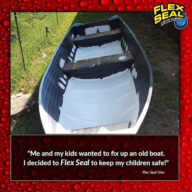 flex seal works great for boat repairs but don t take our word for