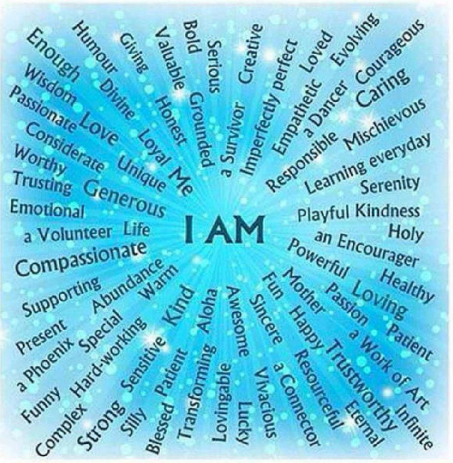 I AM | Inspiration | Affirmations, Positive affirmations, Positivity