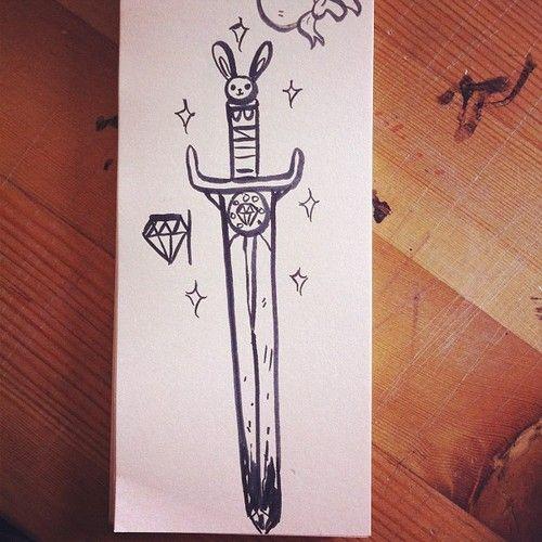 { the bunny sword }