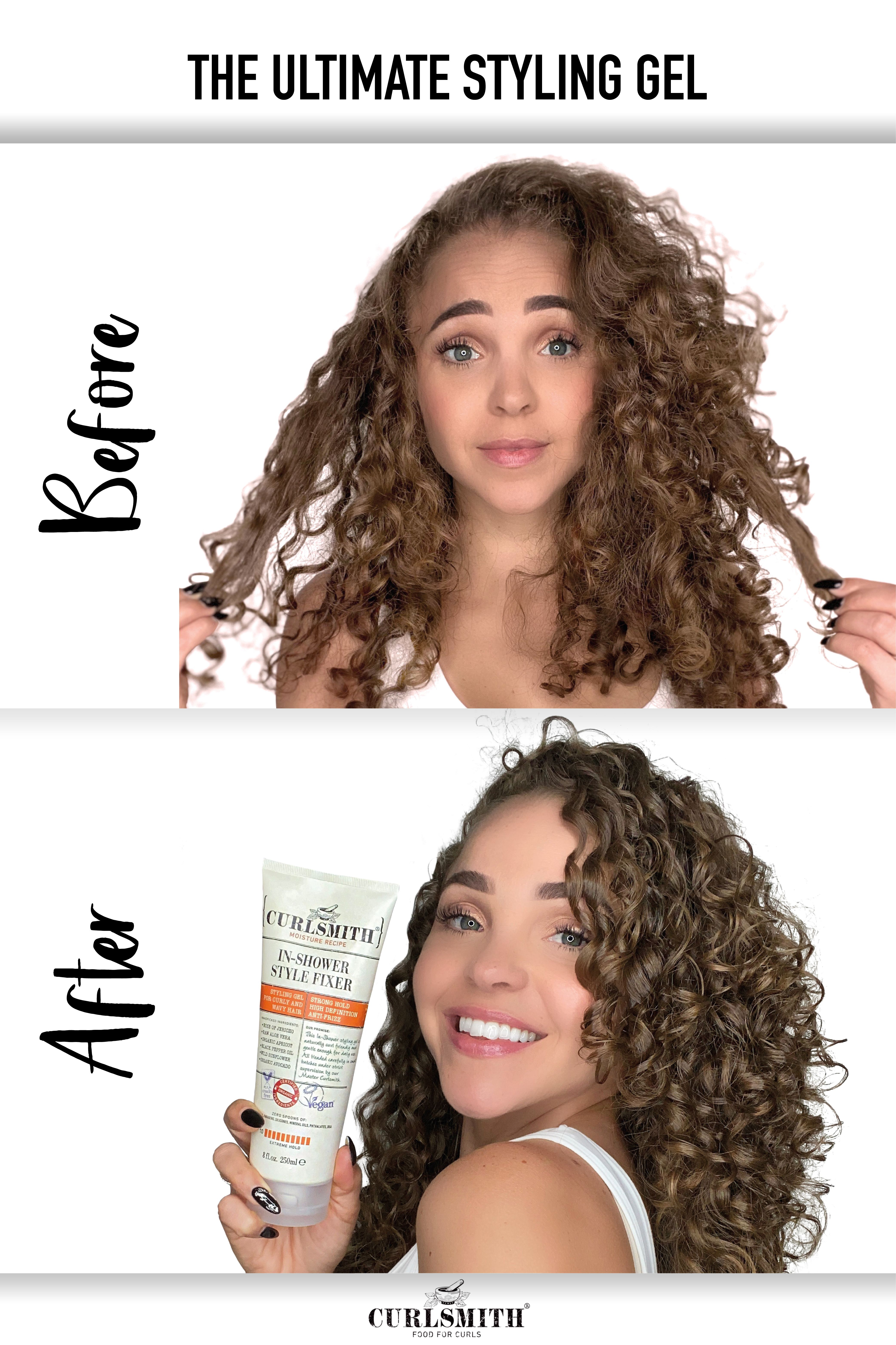 In Shower Style Fixer 2oz 8oz In 2020 Curly Hair Styles Naturally Hair Routines Bouncy Curls
