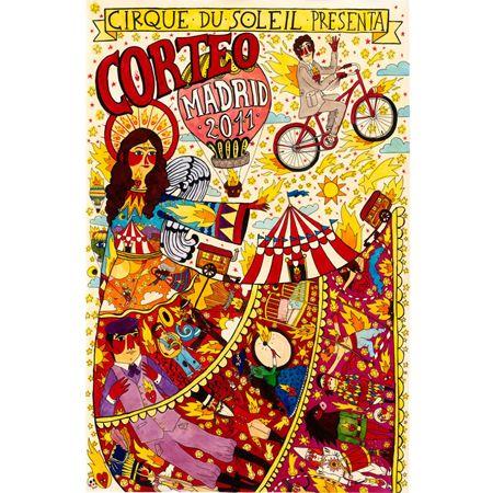 cirque du soleil circus art circus poster