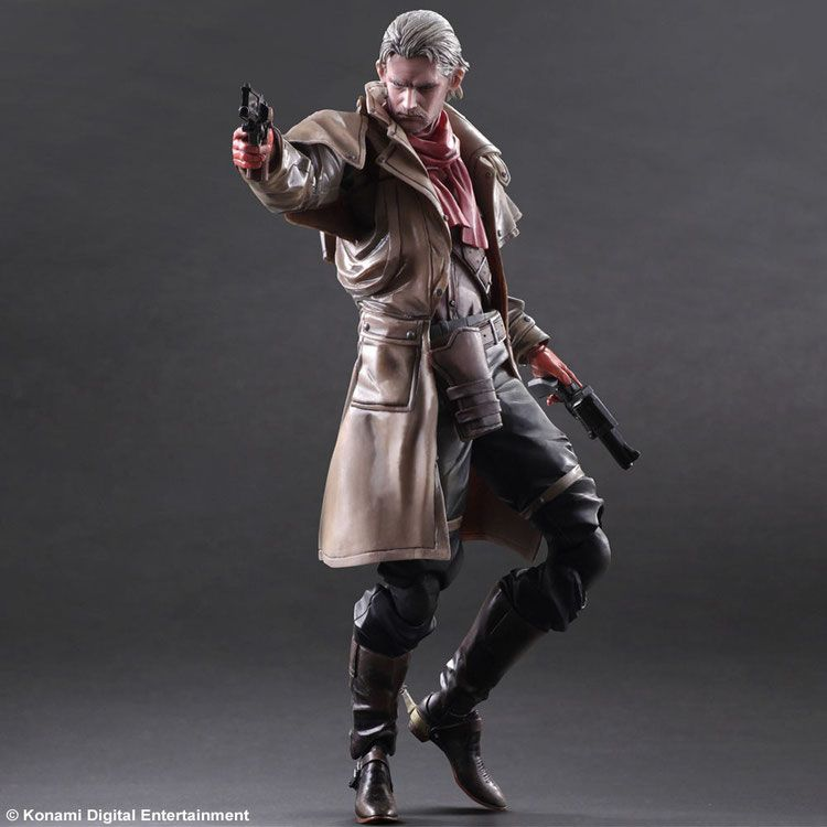 Metal Gear Solid V The Phantom Pain Play Arts Kai Actionfigur Ocelot 28 cm