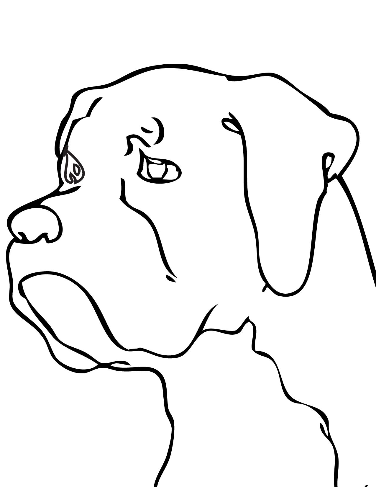 Free Printable Coloring Pages Of Boxer Dogs Coloring Pages