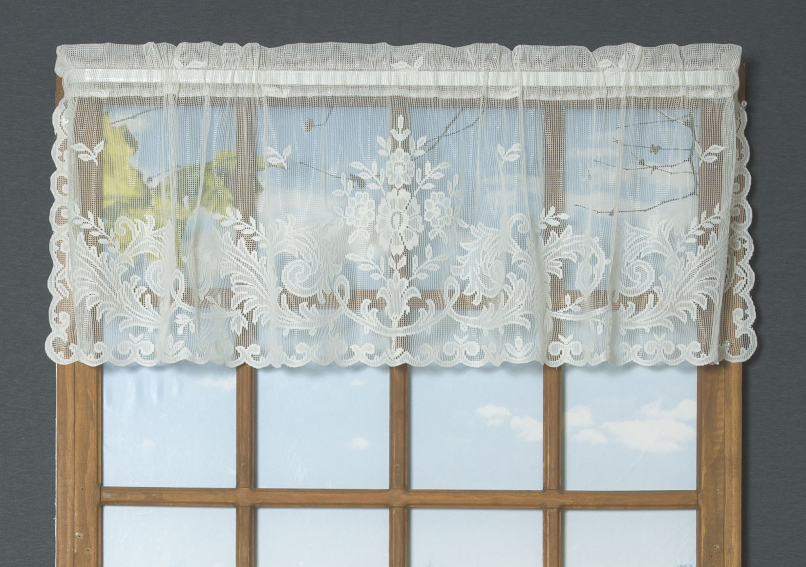 Irish Point Lace Tailored Curtain Pair Case Da Sogno Tende